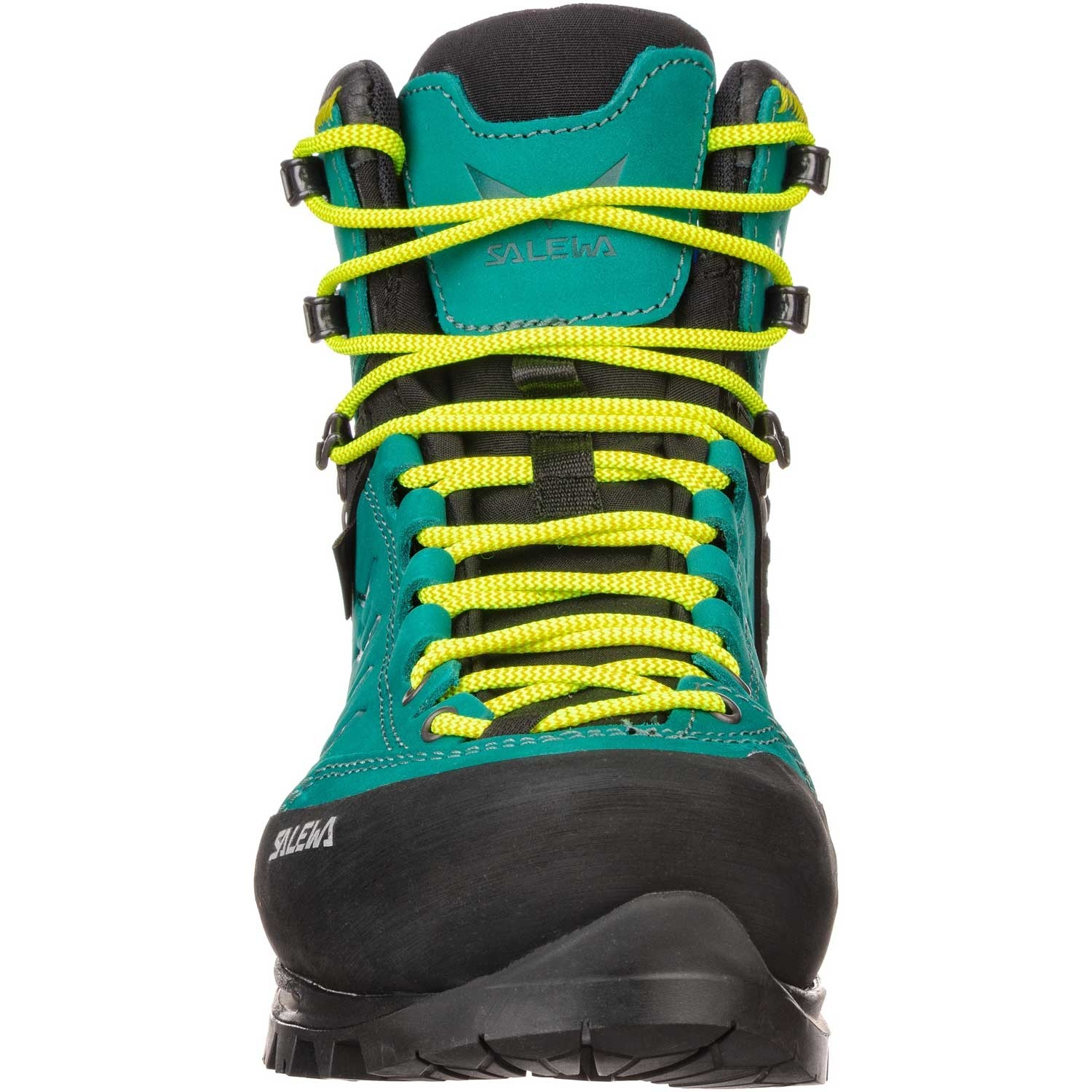 Salewa Rapace GTX Mountaineering Boots - Women's - Shaded Spruce/Sulphur Spring