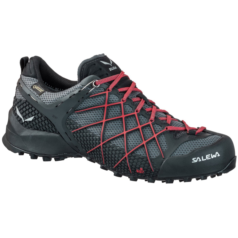 Salewa Wildfire GTX Approach Shoe - Blackout/Bergot
