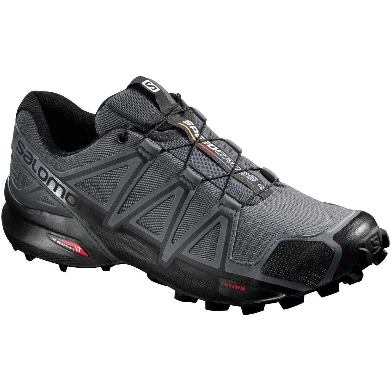 Salomon Speedcross 4 Fell/Trail Running Shoe - Dark Cloud/Black/Pearl Grey