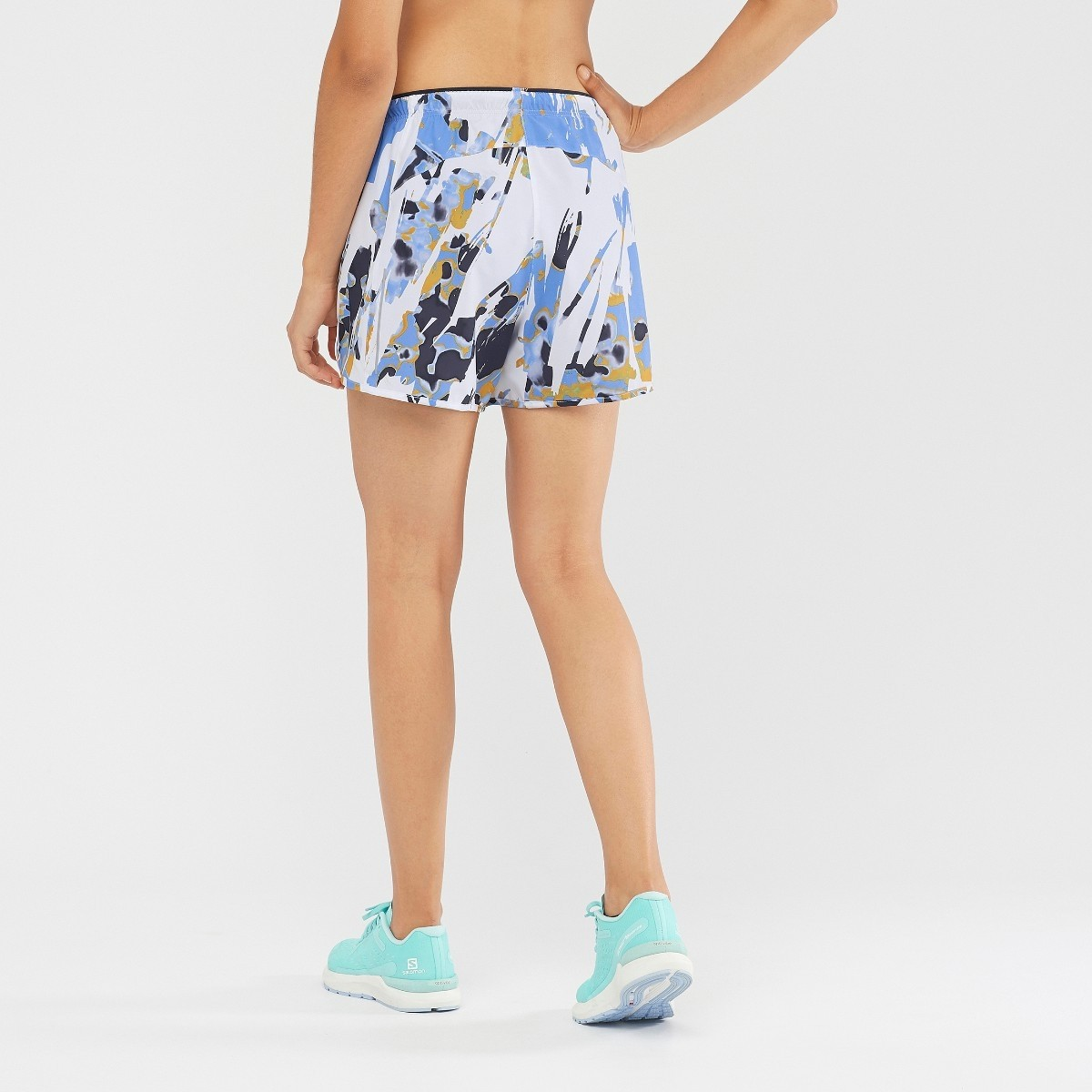 Salomon Agile Short - Women's Running Short - White