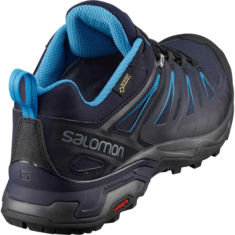 Salomon X Ultra 3 GTX Approach Shoe - Men's - Graphite/Night Sky/Hawaiian
