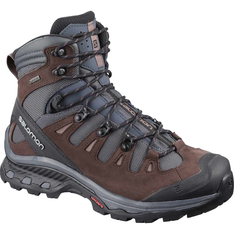 Salomon Quest 4D GTX Women's Walking Boot - Ebony/Chocolate Plum/Peppercorn