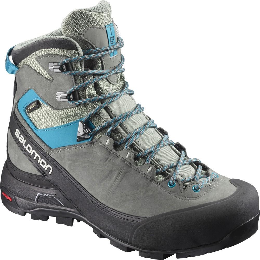 43dc89f3514 Salomon X ALP MTN GTX Women's Walking Boot - Shadow/Castor Grey/Enamel Blue  ...