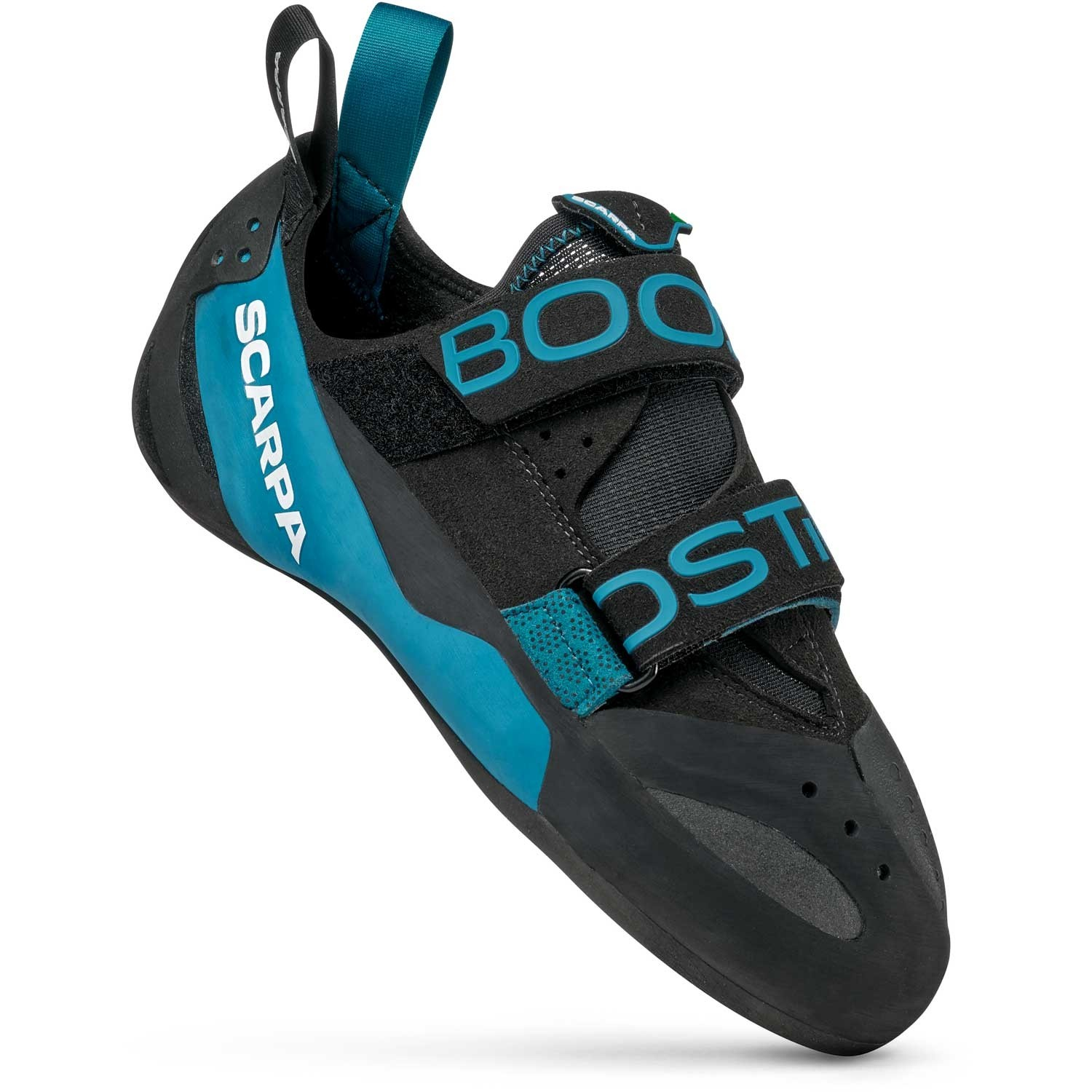 Scarpa Boostic Rock Climbing Shoe - Black/Azure