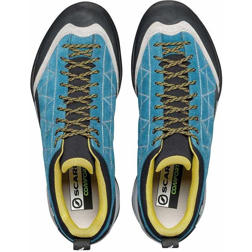 Scarpa Zen Pro Approach Shoe - Men's - Lake Blue/Mustard