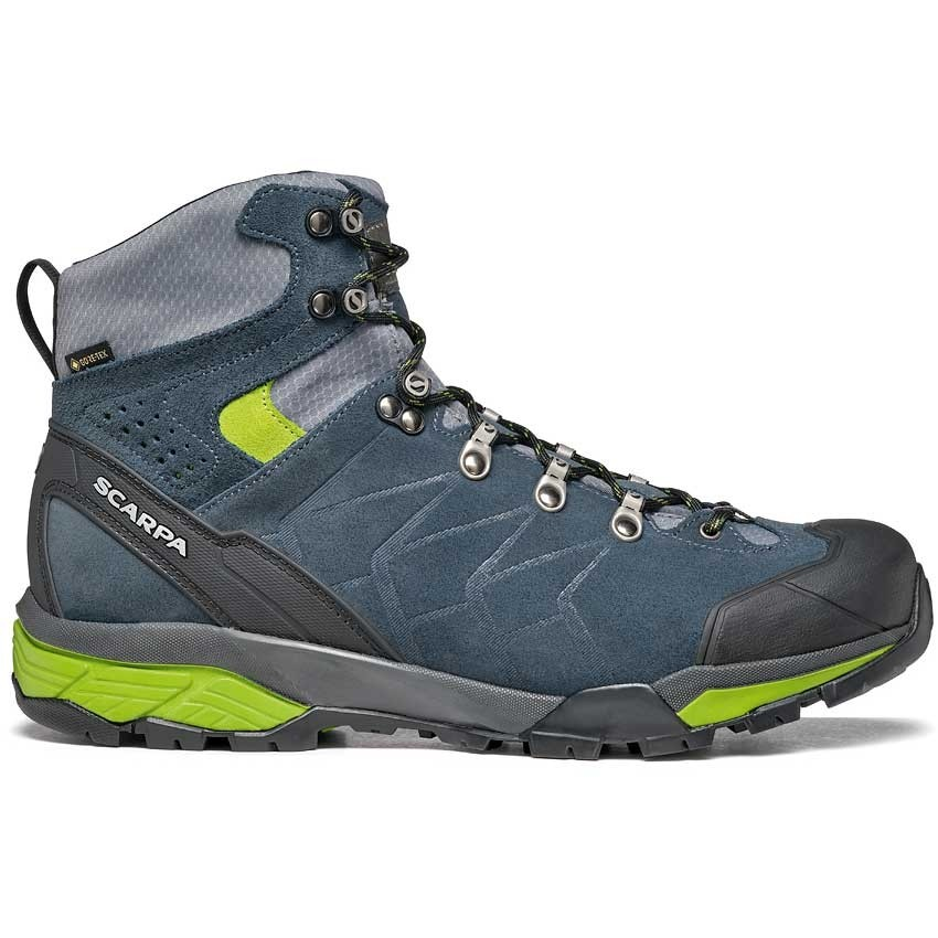 Scarpa ZG Trek GTX Men's Walking Boot - Teal Grey/Spring
