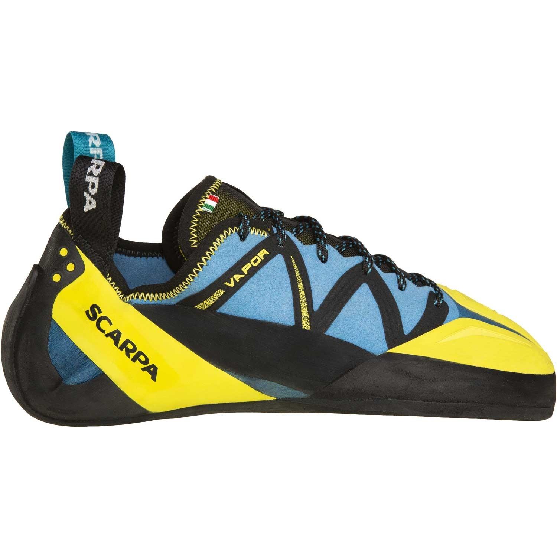 Scarpa Vapour Lace Climbing Shoe - Ocean/Yellow