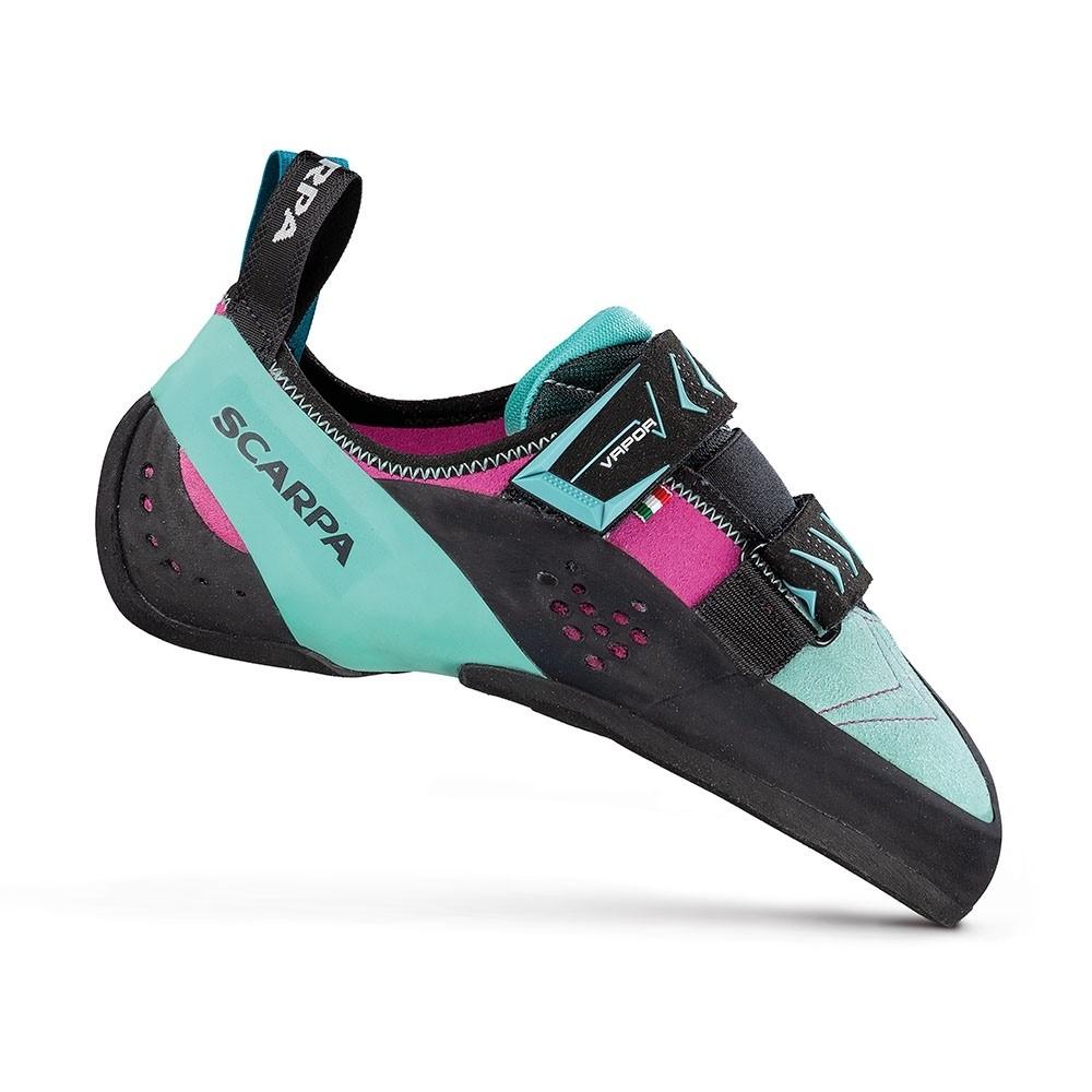 Scarpa Vapour V Women's Climbing Shoe - Dahlia/Aqua
