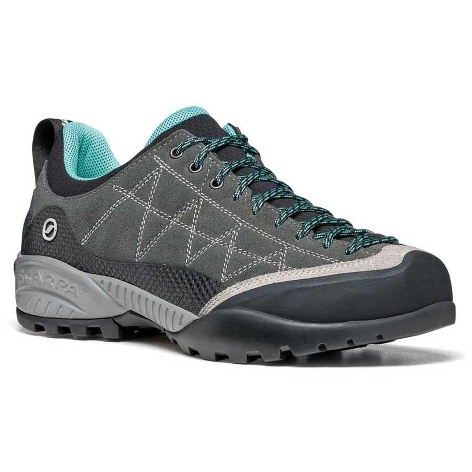 Scarpa Zen Pro Approach Shoes - Women's - Shark Green/Blue