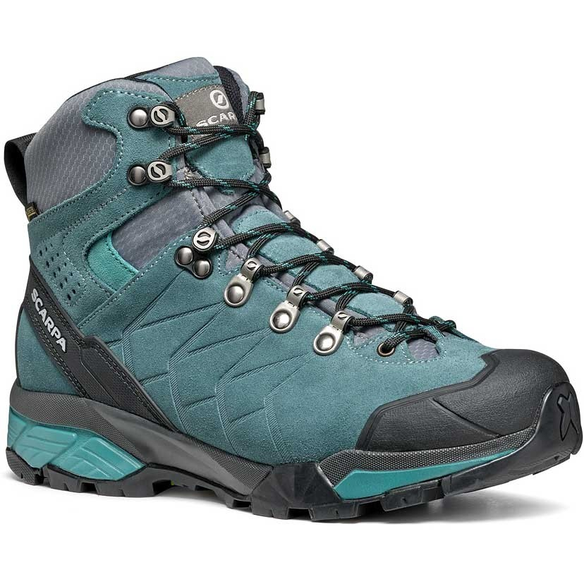 Scarpa ZG Trek GTX Walking Boot - Womens - Nile Blue/Gray/Lagoon