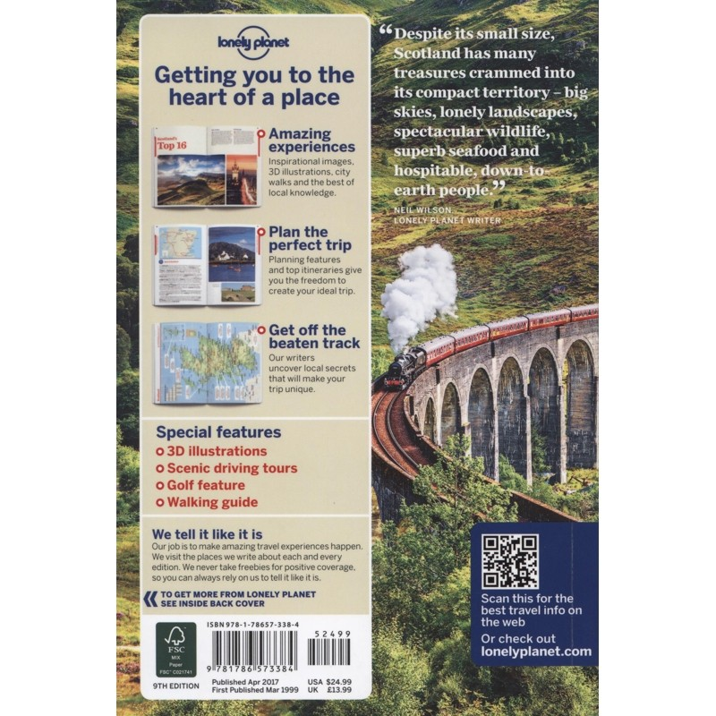 Scotland: Lonely Planet Travel Guide