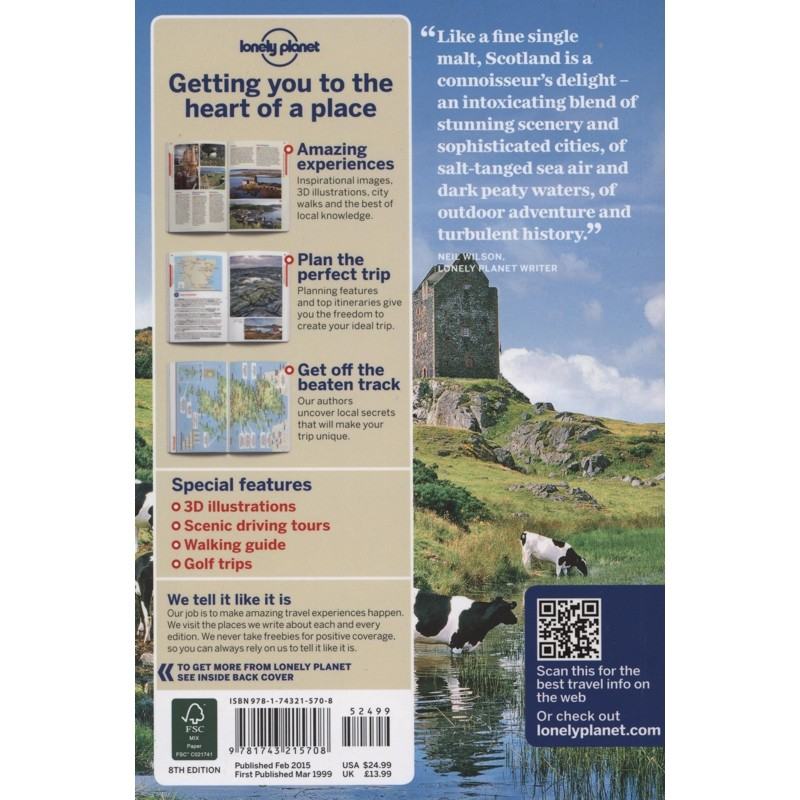 Scotland by Lonely Planet
