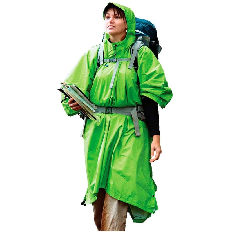 Sea To Summit 70D Tarp Poncho - Green
