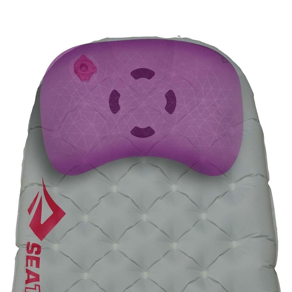 Sea to Summit Ether Light XT Women's Insulated Sleeping Mat - Pillow lock - Dark Grey - Regular