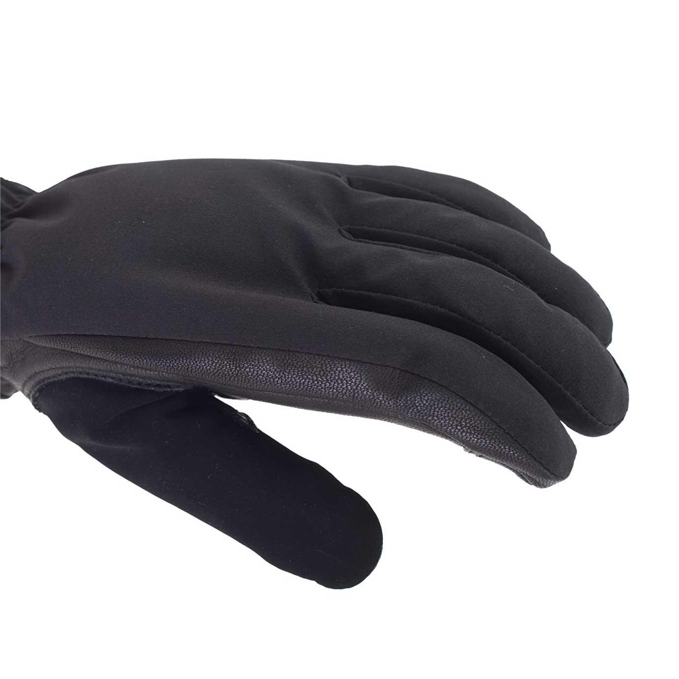 Sealskinz All Season Waterproof Men's Gloves - Black/Charcoal - back