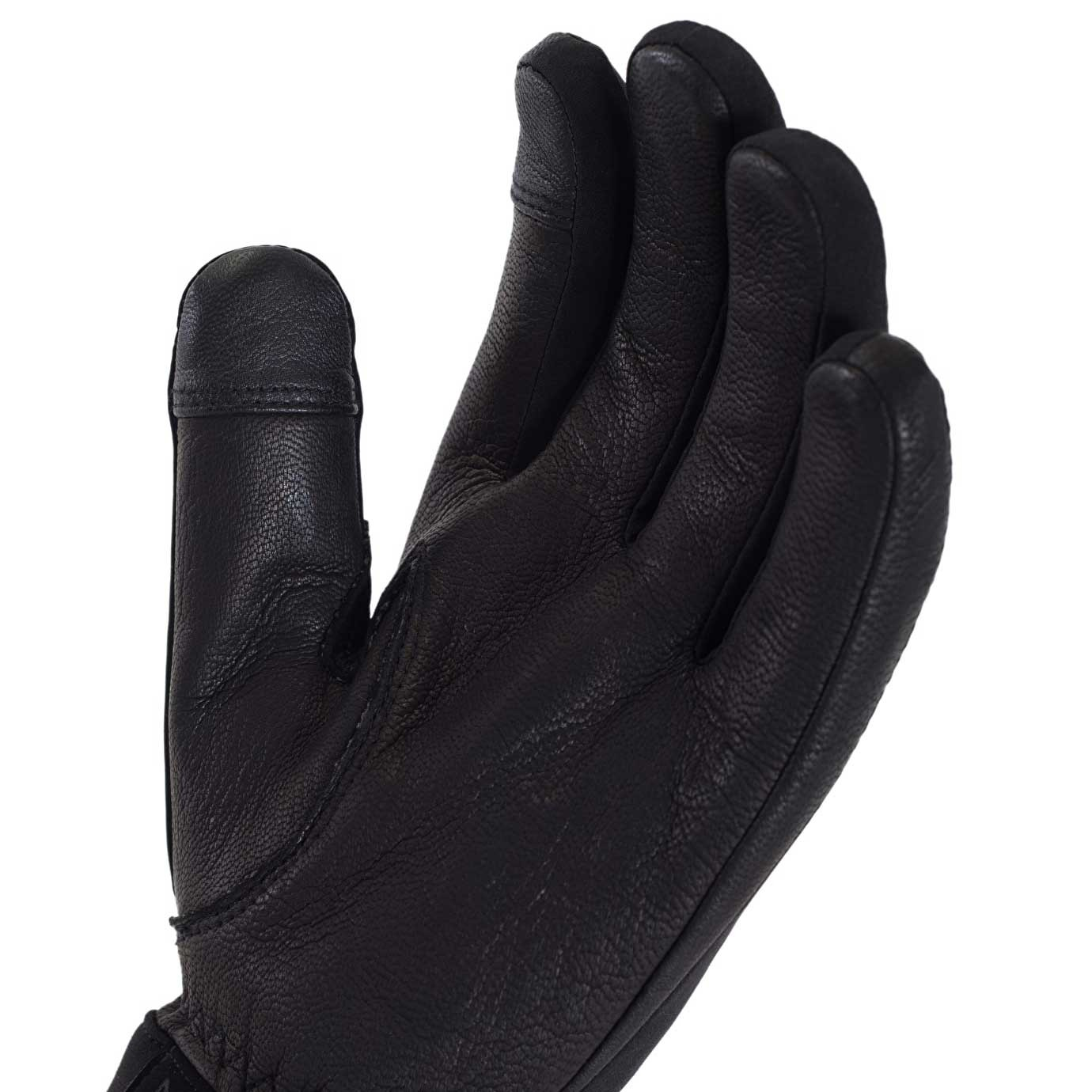 Sealskinz All Season Waterproof Men's Gloves - Black/Charcoal - palm
