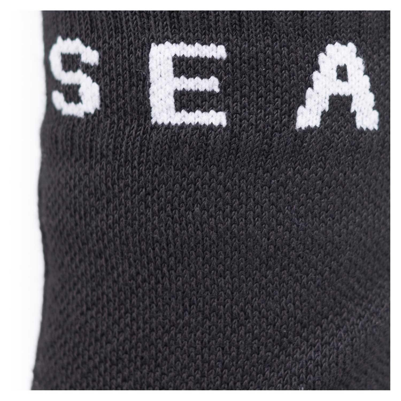 Sealskinz Soft Touch Waterproof Ankle Socks - Black/Grey/Whte