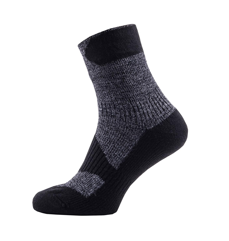 Sealskinz-Walking socks ankle-Grey-Black-W17