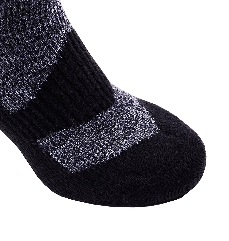 Sealskinz-Walking socks mid-Dark Grey-Black-W17