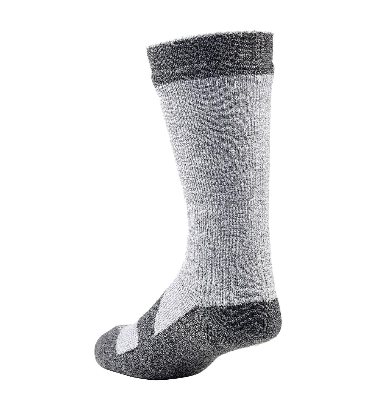 Sealskinz-Walking socks mid-Grey Marl-Dark Grey-Back-W17
