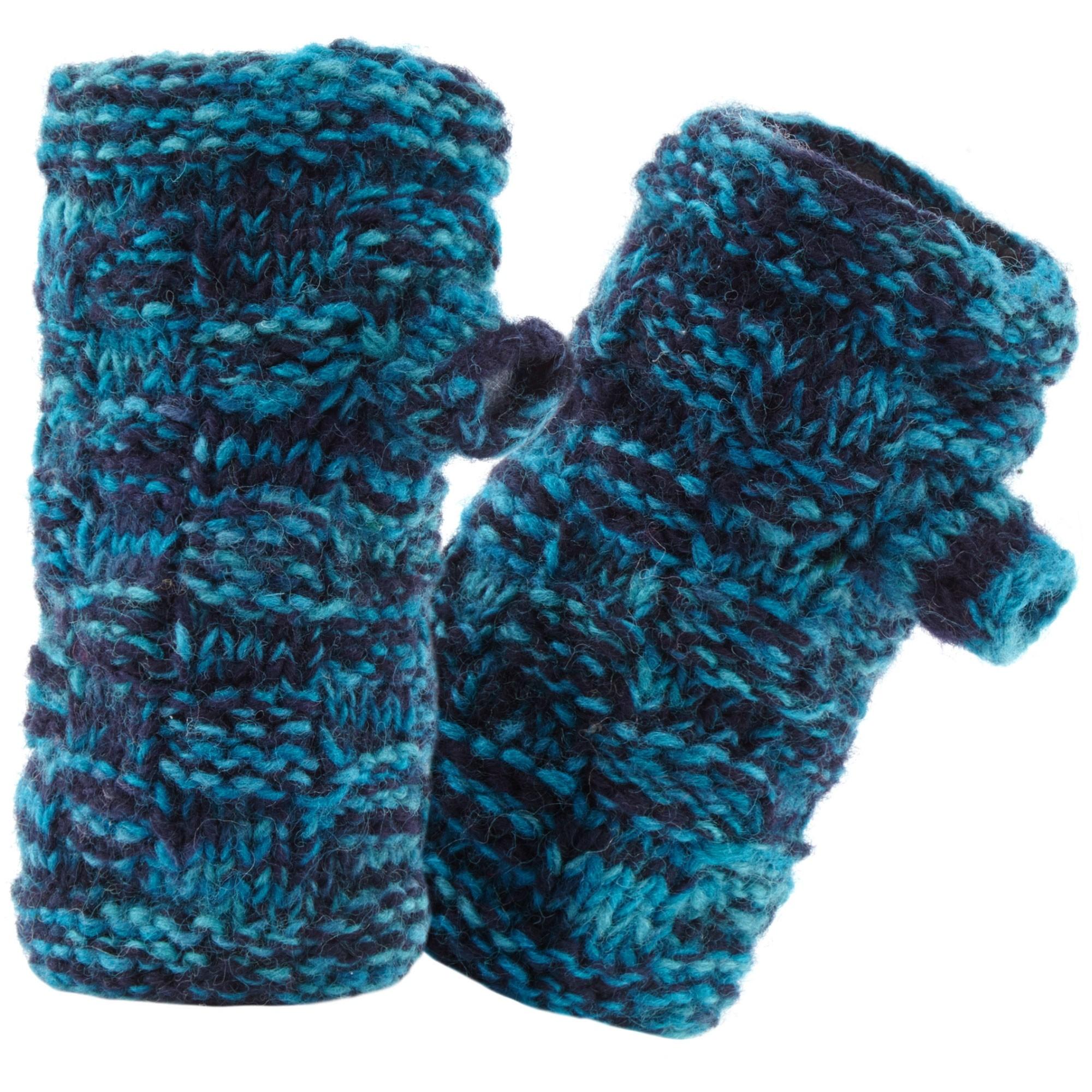 Sherpa Basket Weave Rimjhim Hand Warmers - Rathee