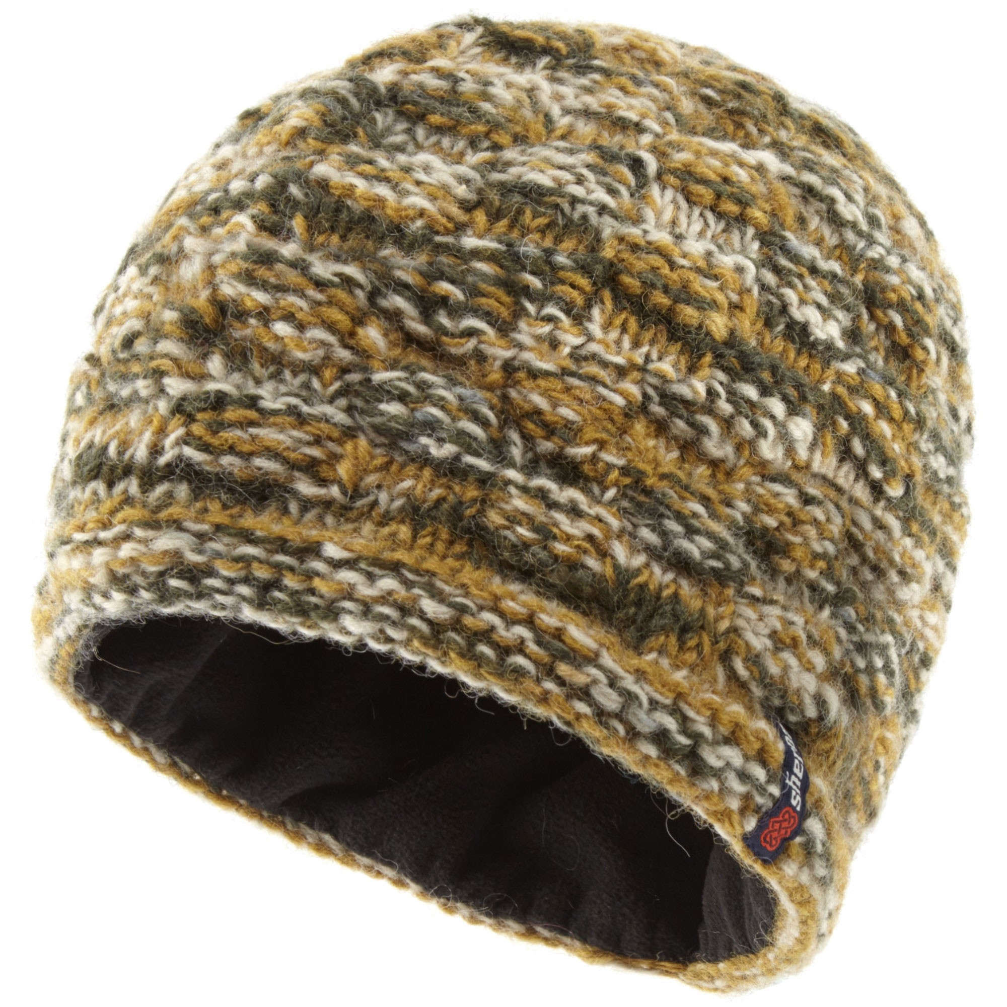 Sherpa Basket Weave Rimjhim Hat - Karnali Sand