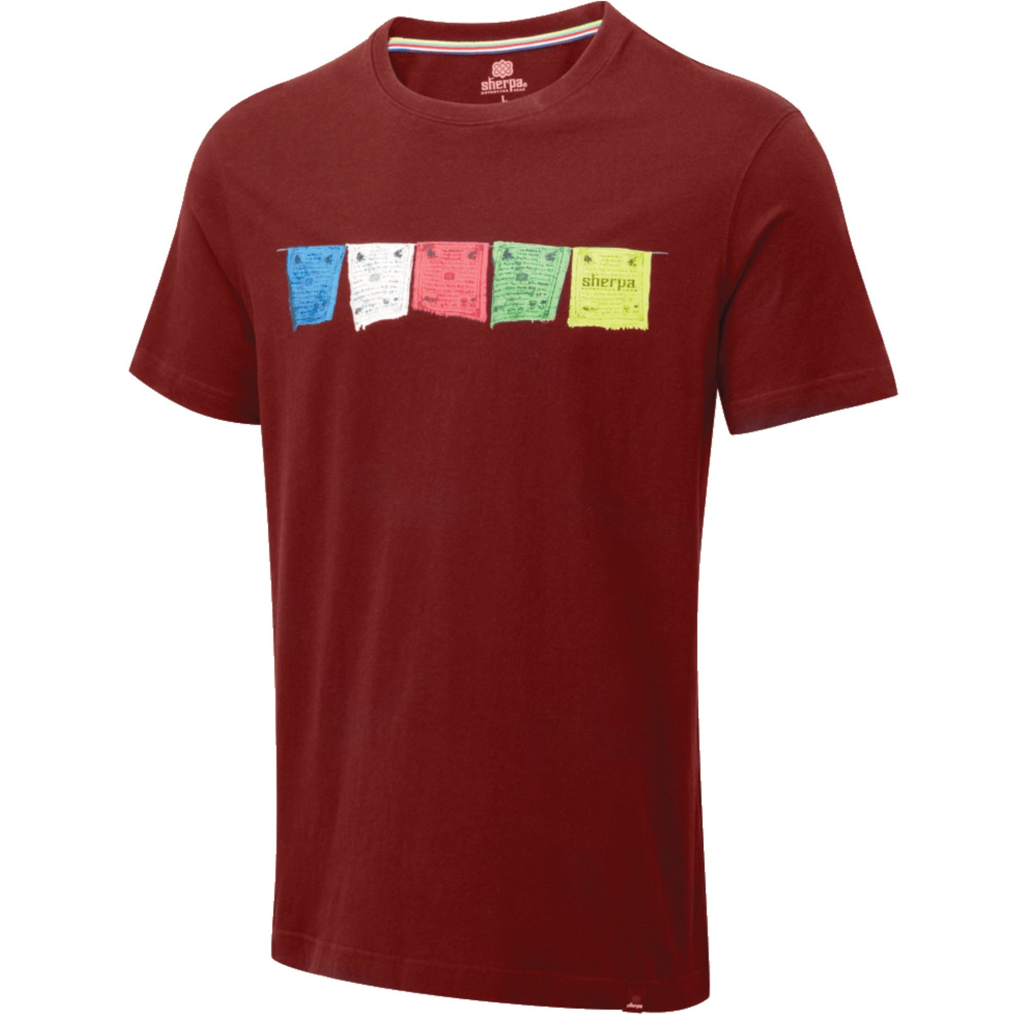 Sherpa Tarcho Tee - Potala Red