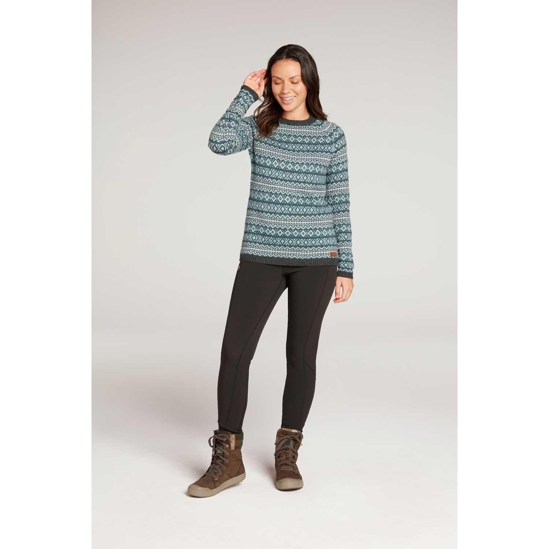 Sherpa Paro Crew Sweater - Rathna Green