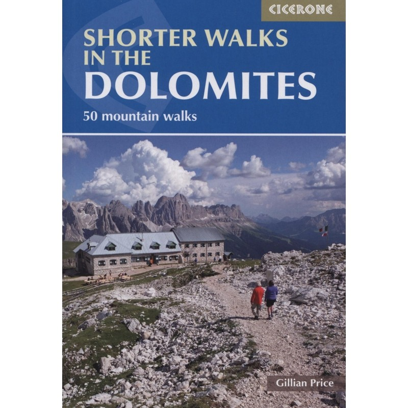 Shorter Walks in the Dolomites by Cicerone