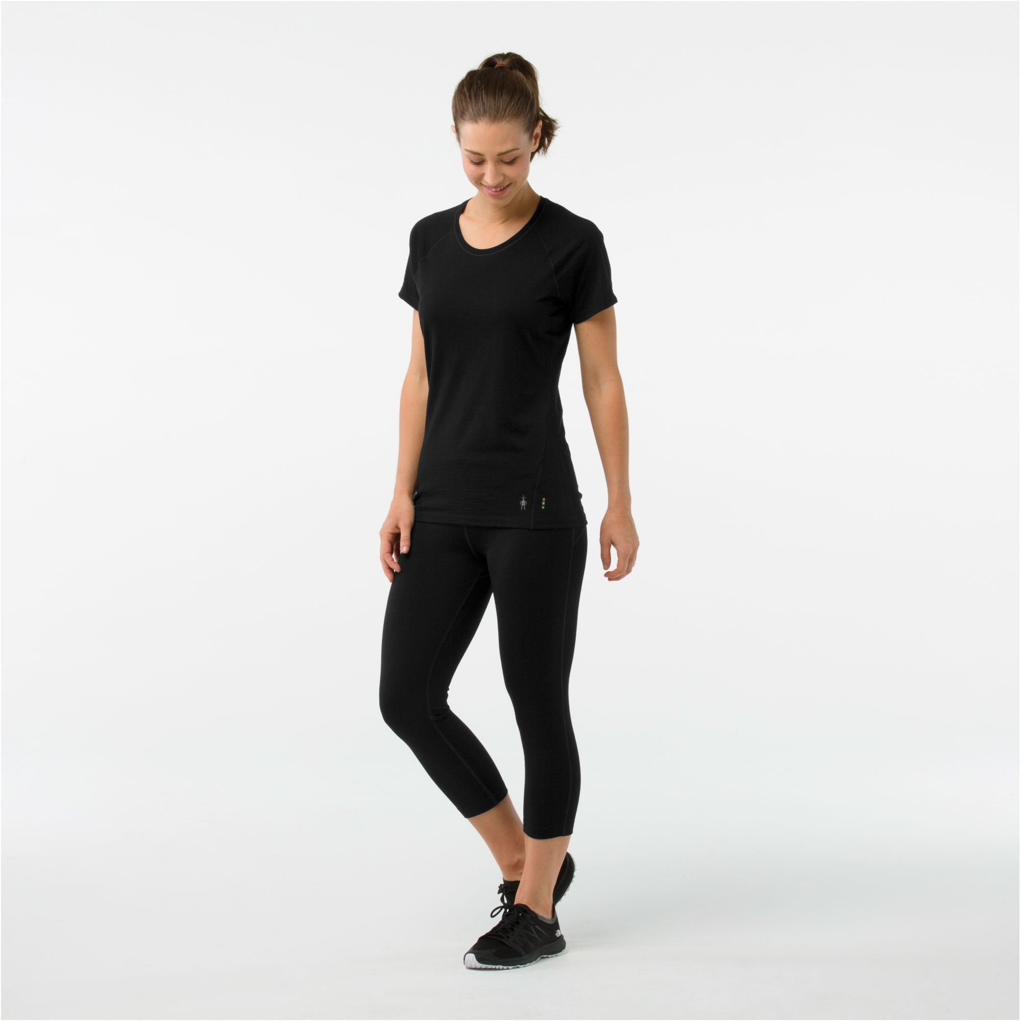 Smartwool Merino 150 Baselayer Short Sleeve - Womens - Black