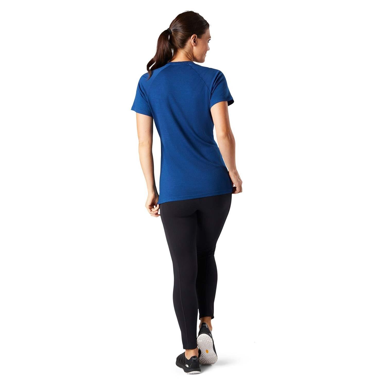 Smartwool Merino 150 Baselayer Short Sleeve - Womens - Indigo Blue