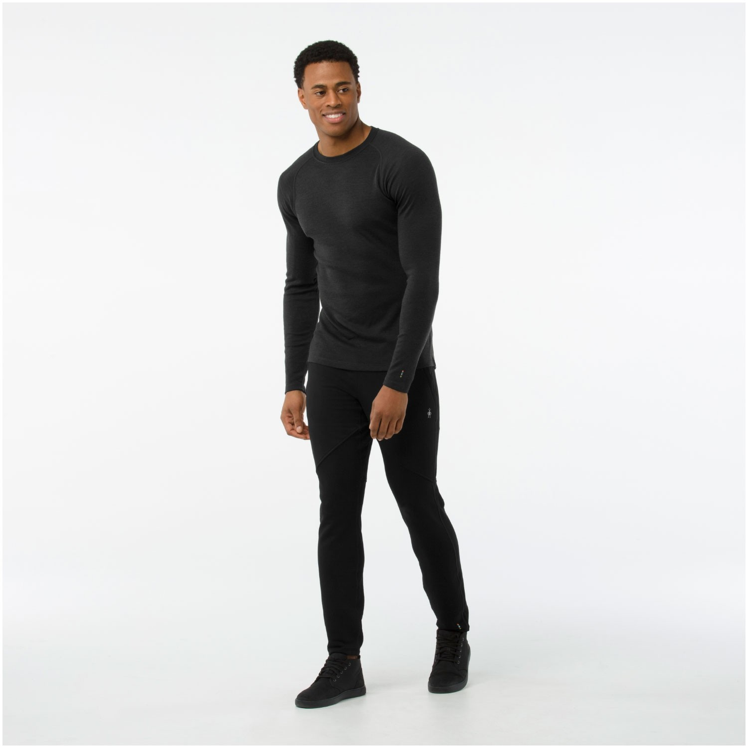 Merino 250 Baselayer 1/4 Zip - Charcoal