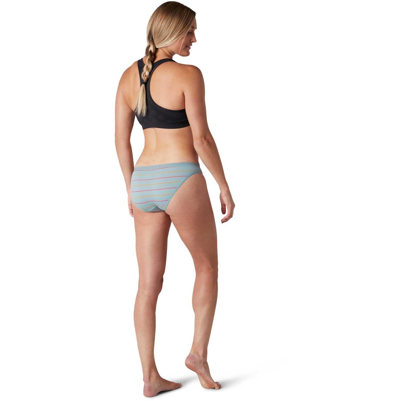 Smartwool Merino 150 Bikini - Womens - Blue Wave Stripe