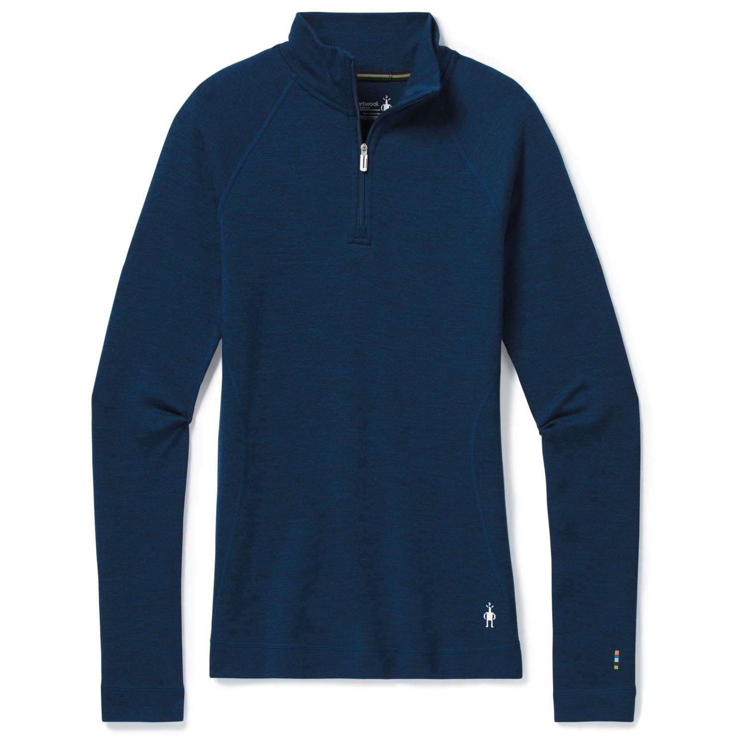 Smartwool Merino 250 Baselayer Women's 1/4 Zip - Alpine Blue Heather