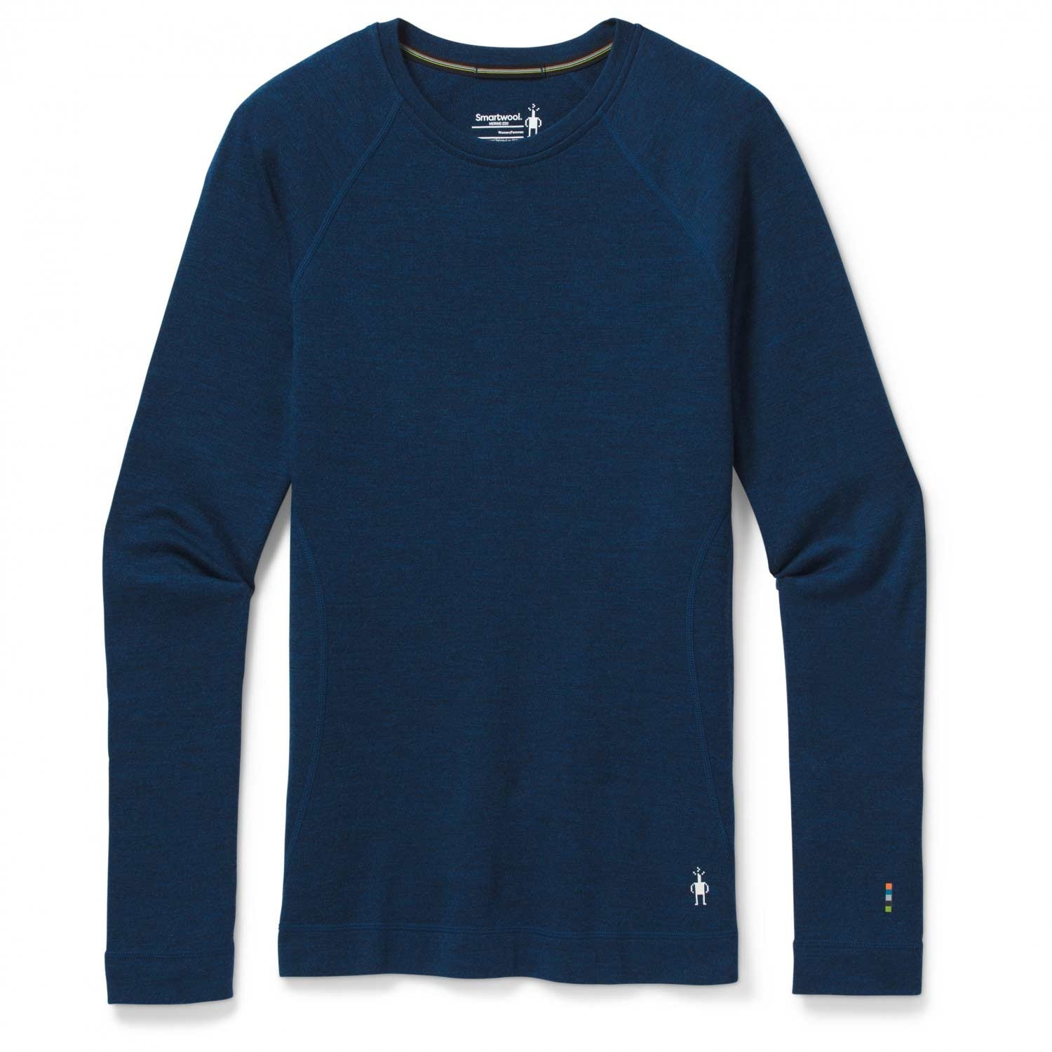 Smartwool Merino 250 Baselayer Crew - Women's - Alpine Blue Heather