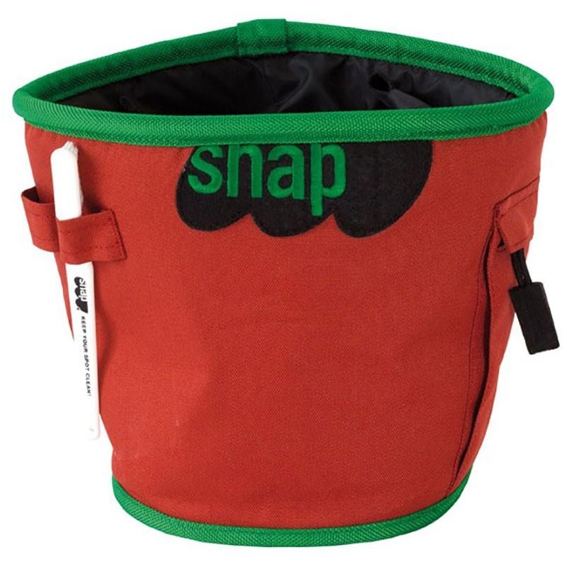 Snap Chalk Bucket - Ketchup
