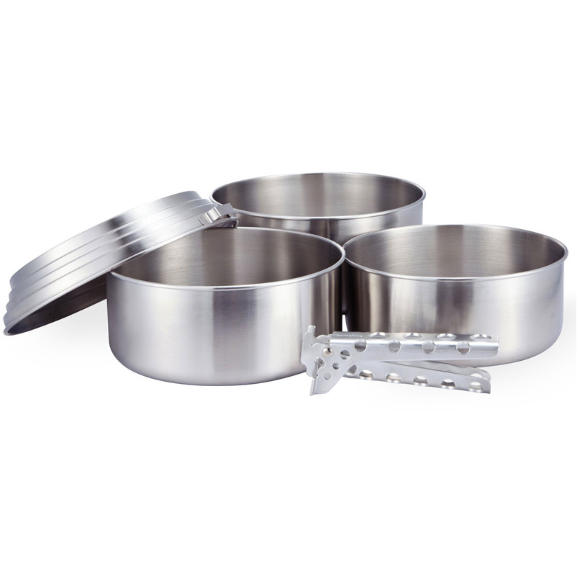 Solo Stove Three Pot Set Stainless Steel
