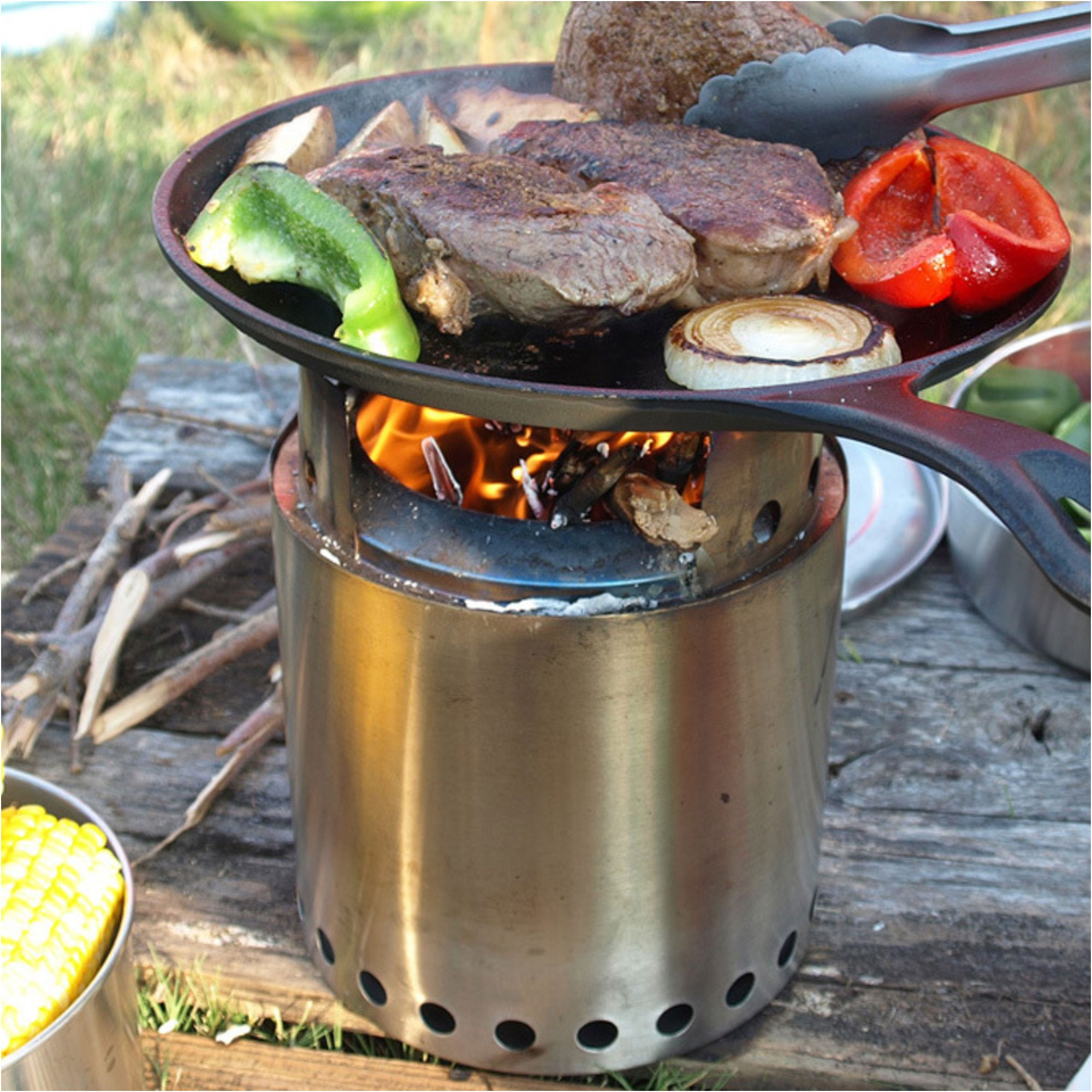 Solo Stove Campfire Stove Stainless Steel