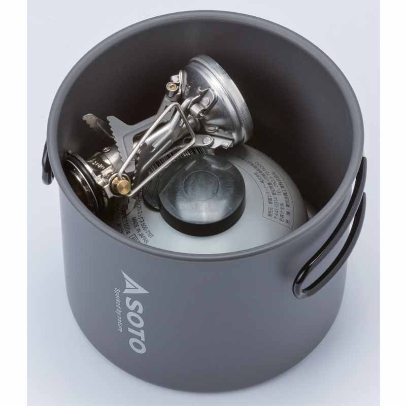 Soto Amicus Stove/New River Pot Combo - without igniter