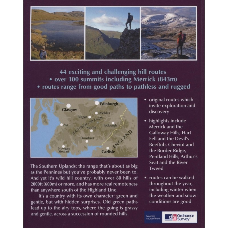 Walking in the Southern Uplands: The best hill days in southern Scotland by Cicerone