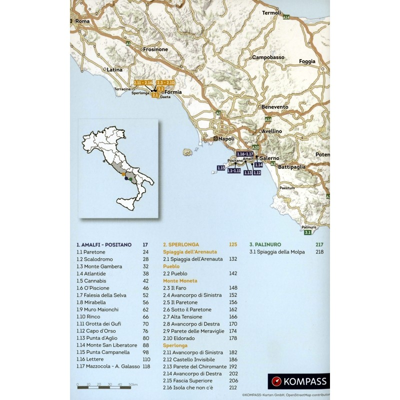 Sportclimbing on the Costa d Amalfi by Vertical-Life