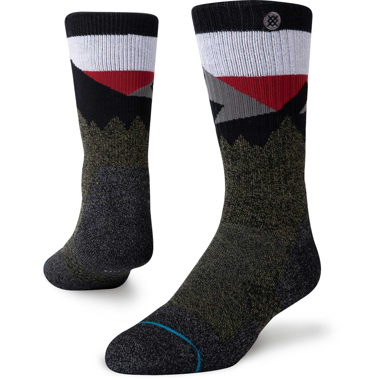 Stance Divide St Outdoor Crew Socks - Green