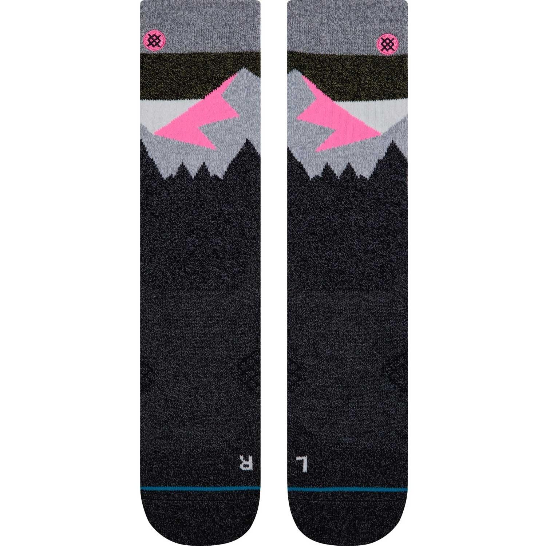 Stance Divide St Outdoor Crew Socks - Natural