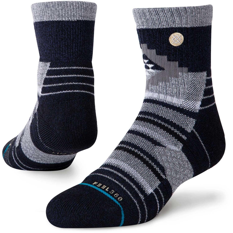 Stance Little Creek Quarter Hiking Socks - Navy