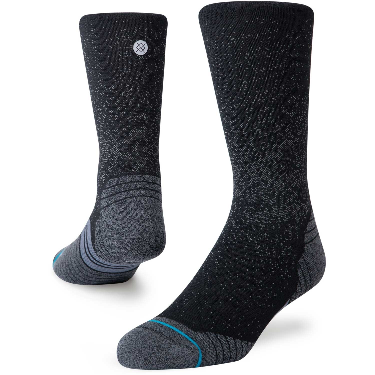 Stance Run Crew St Socks - Black