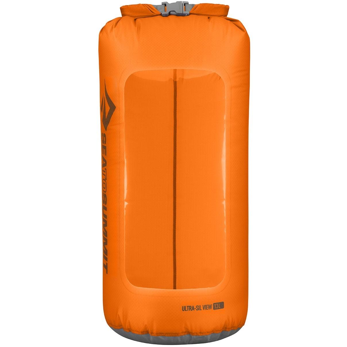 Sea to Summit Ultra-Sil View Dry Sack 13 Litre Orange