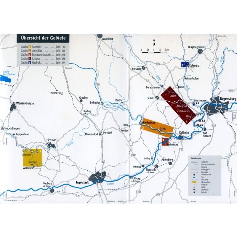Sudlicher Frankenjura map