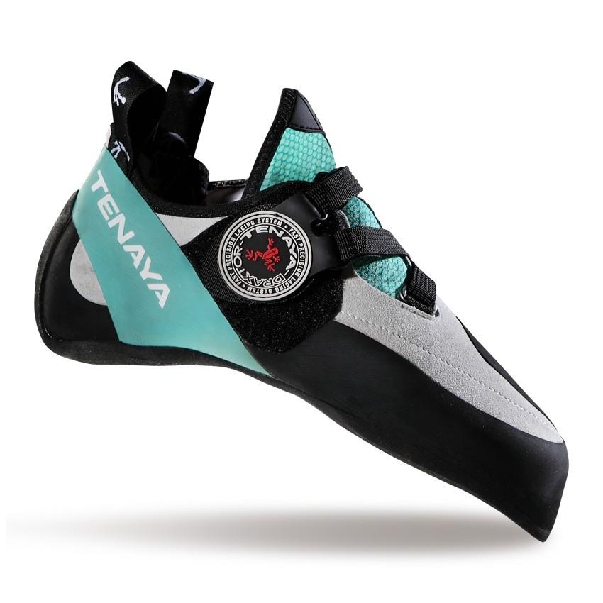 Tenaya Oasi LV Women's Climbing Shoe - White/Aqua