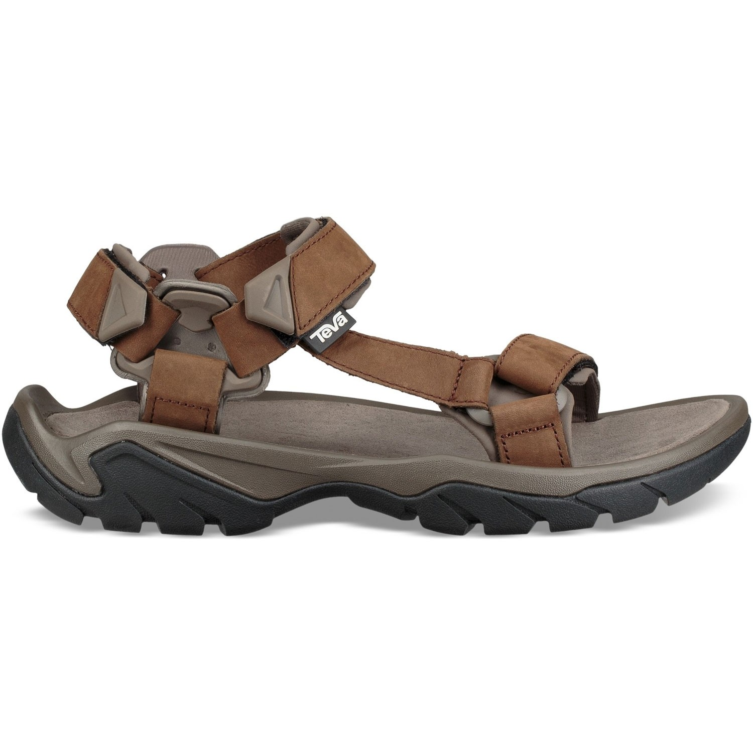 Teva Terra Fi 5 Universal Leather Men's Sandals - Carafe