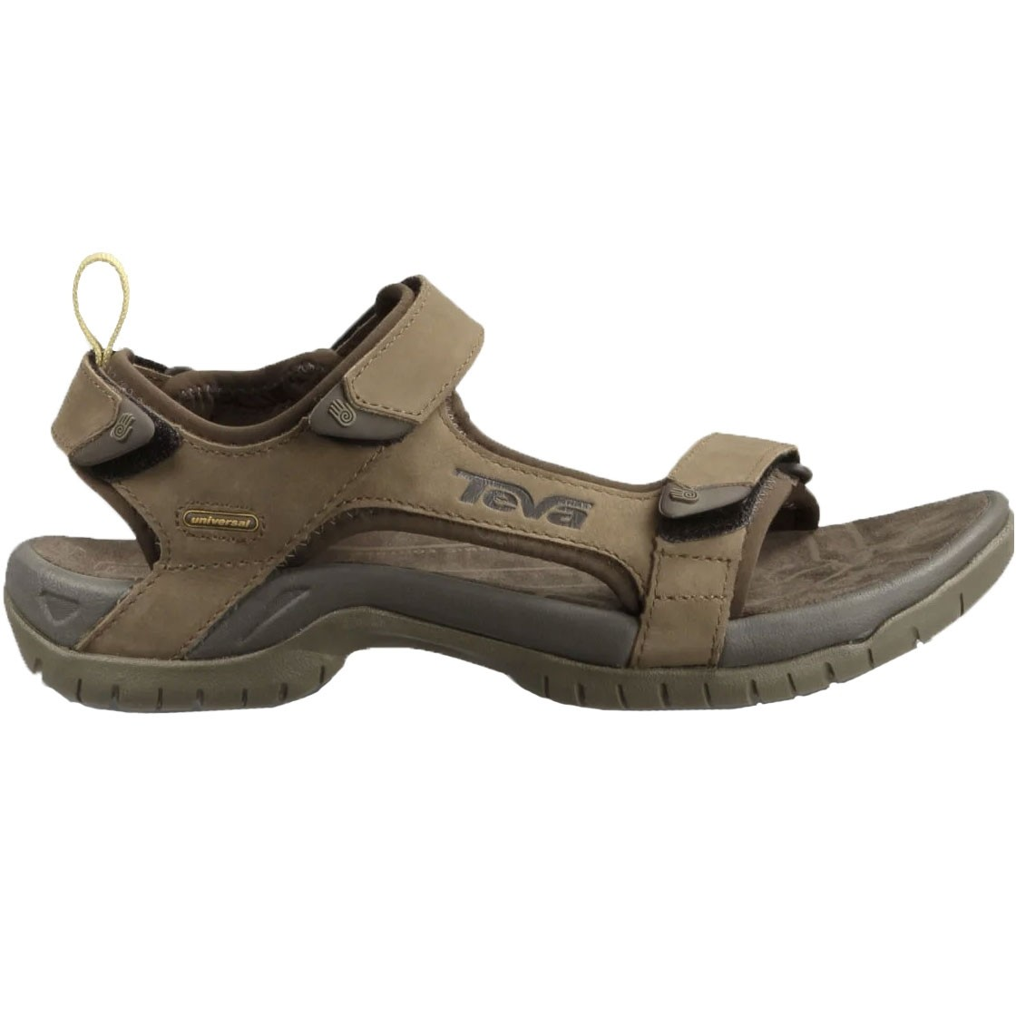 Teva Tanza Leather Men's Sandal - Brown